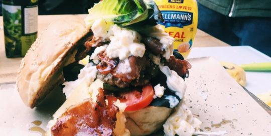Hellmans Rock Your Burger